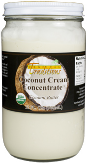 Coconut Cream Concentrate 32 oz.