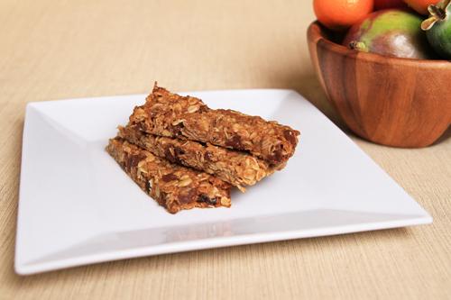 Chewy Peanut Butter Coconut Granola Bars recipe photo
