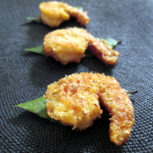 Chili-Coconut Crusted Shrimp recipe photo