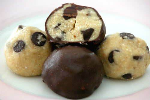 Chocolate Chip Cookie Dough Truffles photo