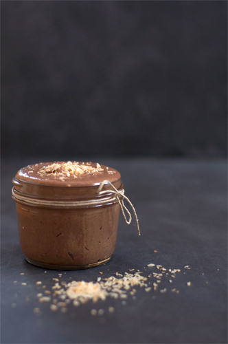 Cocoa and Toasted Coconut Almond Butter Recipe photo
