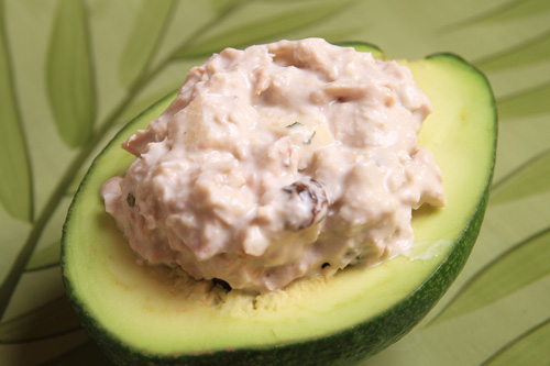 Coconut-Tuna Walnut Salad recipe photo