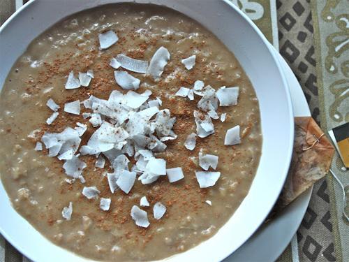 Coconut Chai Tea Oatmeal Recipe photo