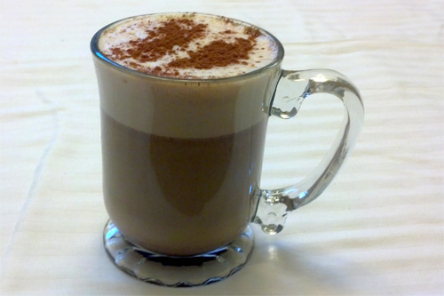 Coconut Cinnamon Latte Recipe photo