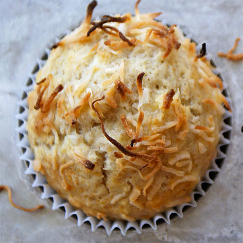 Coconut Crunch Muffins recipe photo