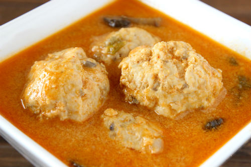 Coconut Curry Chicken Meatball Soup Recipe photo