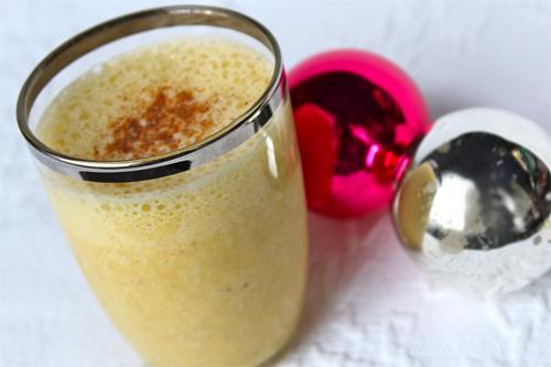 Coconut Eggnog Smoothie photo