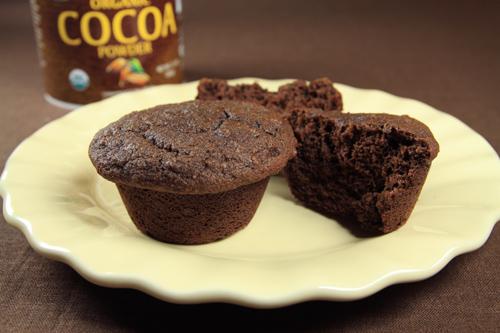 Coconut Flour Cocoa Banana Muffins Recipe photo