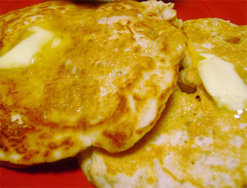 Coconut Flour Oat Pancakes recipe photo