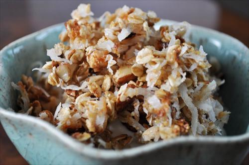 Coconut Macaroon Granola recipe photo