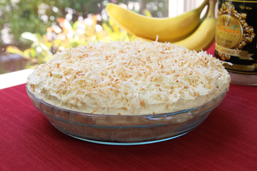 Coconut Banana Cream Pie recipe photo
