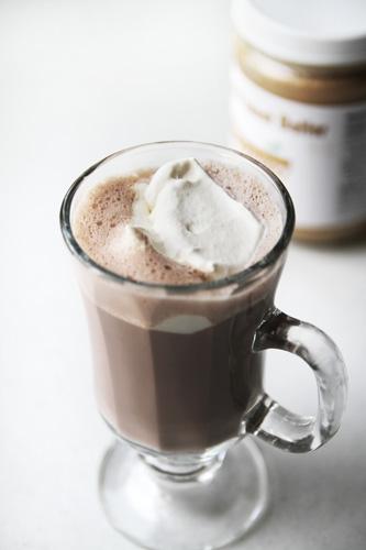 Coconut Peanut Butter Cup Hot Cocoa recipe photo