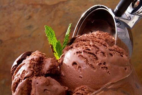 Frozen Chocolate Coconut Milk Dessert