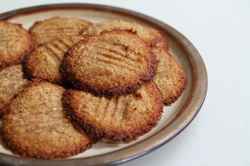 Gluten Free Coconut Almond Cookies recipe photo