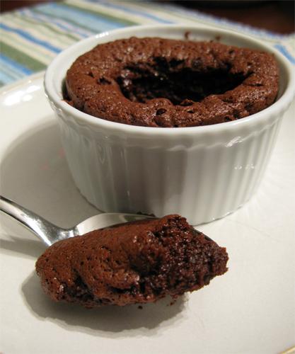 Gluten Free Molten Lava Chocolate Cake photo