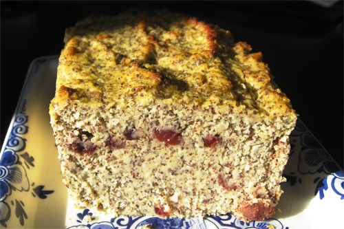 Gluten Free Poppy Seed Apple Coconut Loaf recipe photo