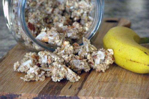 Grain Free Banana Nut Granola photo