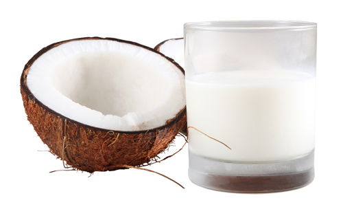 ... coconut milk and we prefer to make our own store bought coconut milk