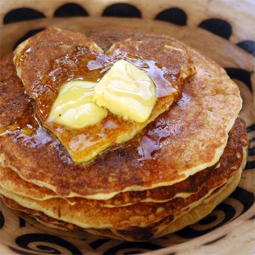 Oatmeal Cinnamon Raisin Pancakes recipe photo