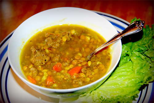 Split Pea Soup Recipe photo