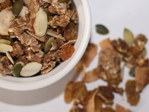 Super Nutty Granola Crunch recipe photo