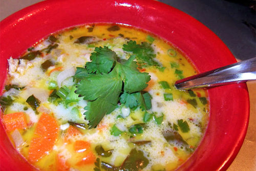 Thai Chicken Coconut Soup II photo