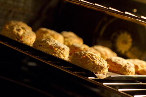 Cheesy Einkorn Biscuits Recipe photo