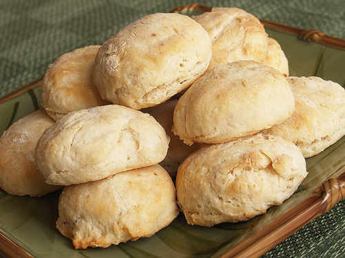 Coconut Flour Baking Powder Biscuits