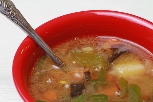 Feel Good Cold Weather Soup with Coconut Oil recipe photo
