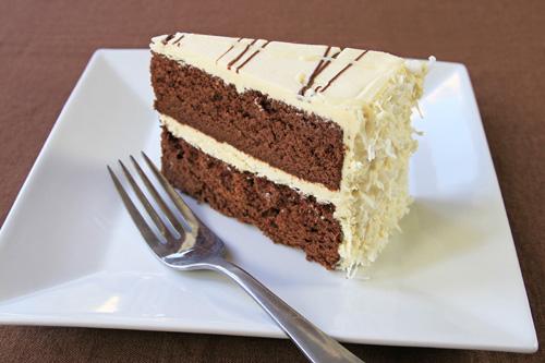 Gluten Free Coconut Flour Chocolate Cake recipe photo