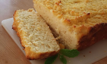 Gluten Free Coconut Flour Grapefruit Pound Cake recipe photo