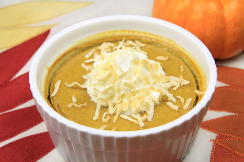 Coconut Pumpkin Custard recipe photo