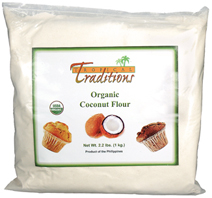 Organic Coconut Flour used in Coconut Recipes